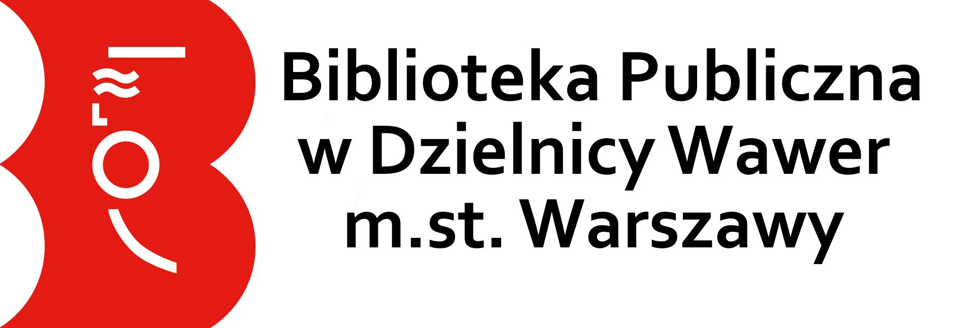 Logo Biblioteka Publiczna dla Dzielnicy Wawer m.st. Warszawy